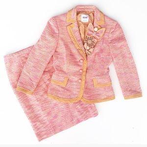 Moschino Skirt & Blazer Suit Set